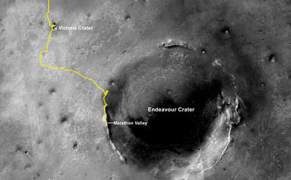 read the article 'Opportunity Rover's Full Marathon-Length Traverse'