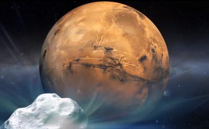 read the article 'NASA Holds Briefing to Discuss Comet Flyby of Mars Observations'