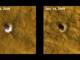 read the article 'MRO Sees Ice on Mars Exposed by Meteor Impacts'