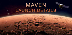 MAVEN Launch Details