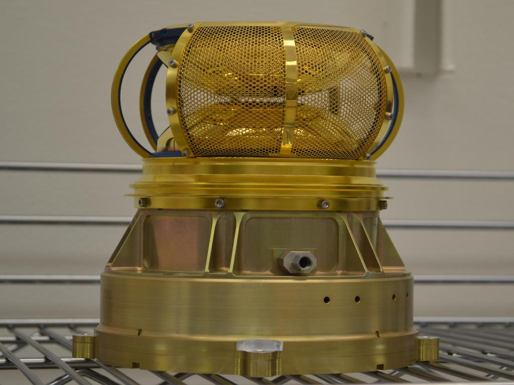 The Solar Wind Electron Analyzer (SWEA) is a part of the Particles and Fields (P & F) Package and will measure the solar wind and ionospheric electrons.