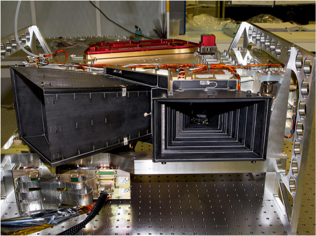 MAVEN Imaging Ultraviolet Spectrograph (IUVS) delivered to Lockheed Martin.
