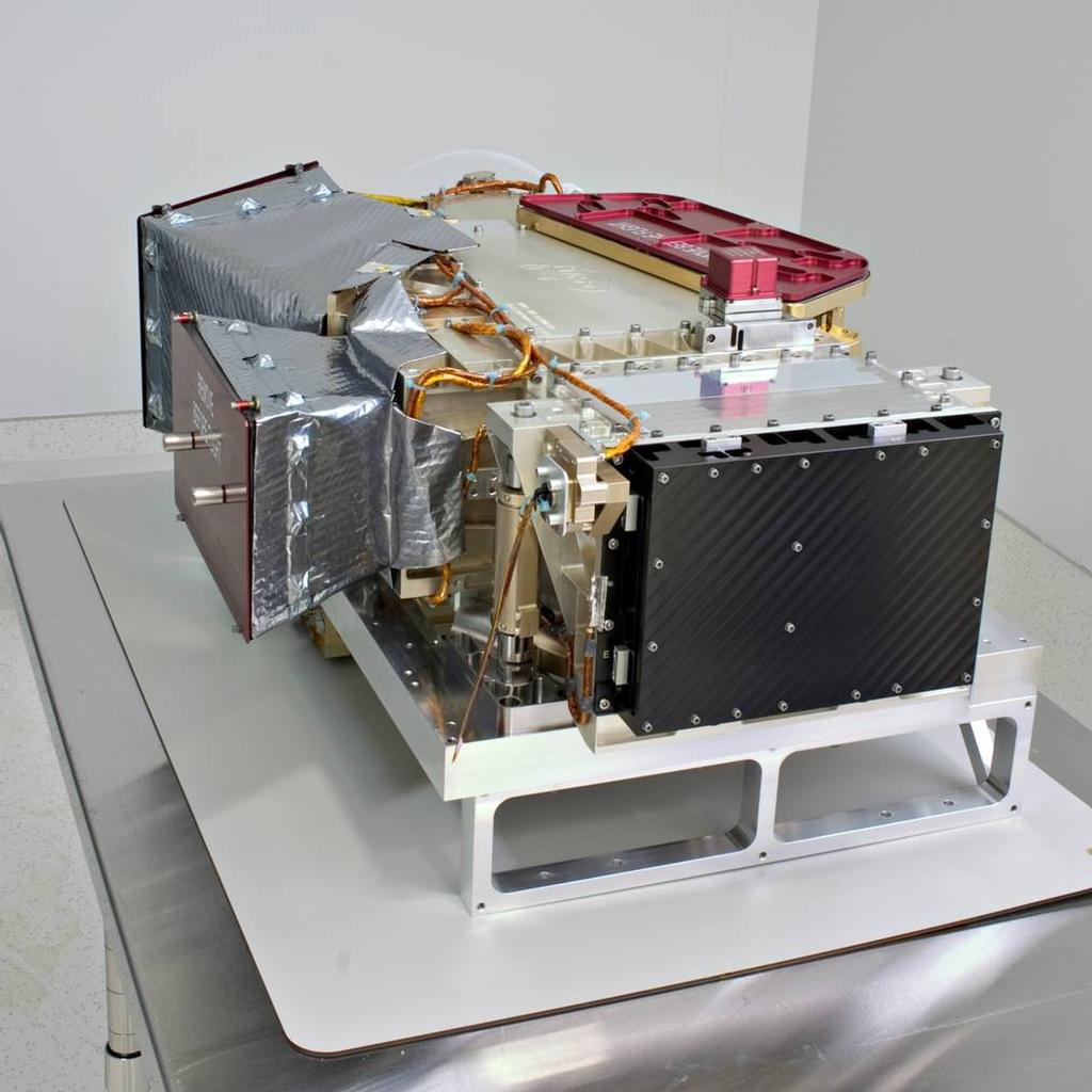 The Remote Sensing package aboard the MAVEN spacecraft, was conceived, designed and built by the University of Colorado's Laboratory for Atmospheric and Space Physics (CU/LASP) at Boulder.