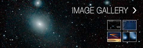 View the Comet Siding Spring Image Gallery
