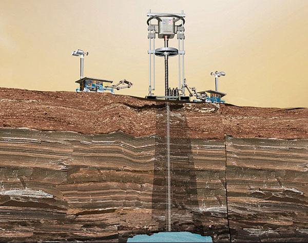 mars rover landing balloons - photo #15