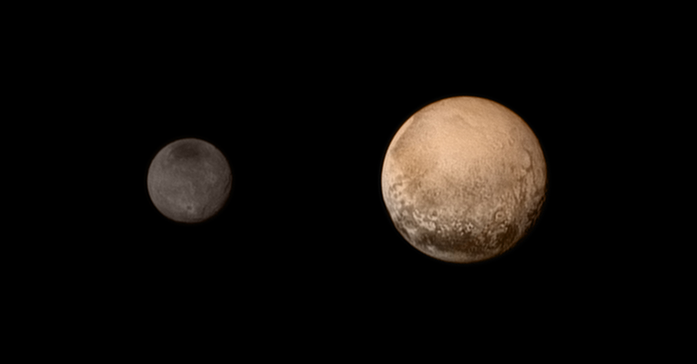 Pluto Approach Image