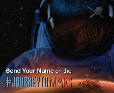 Send Name to Mars