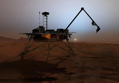 A surprise from NASA's Phoenix Mars Lander mission in 2008 was finding perchlorate in Martian soil.