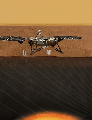 Proposed Mission for Studying Deep Interior of Mars