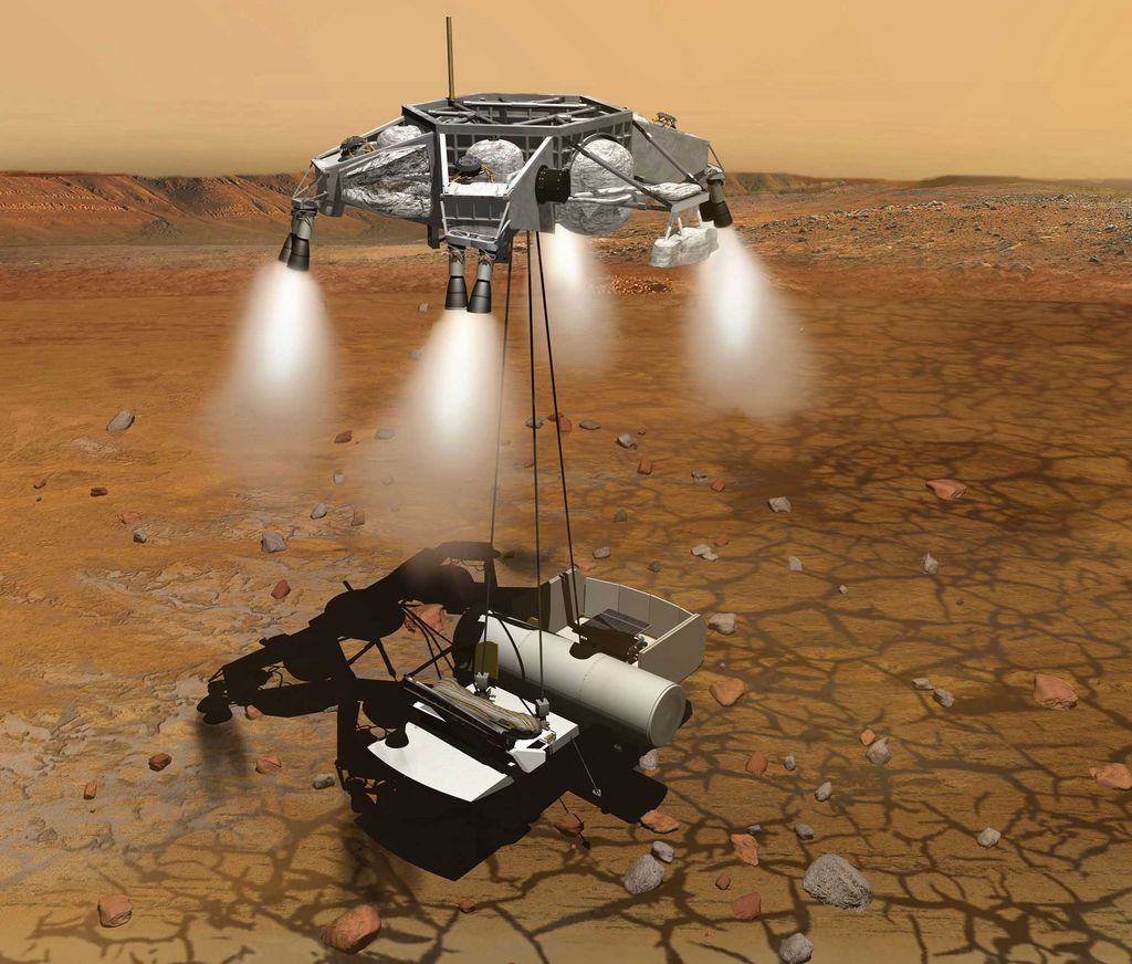 manned mission to mars 3d art - photo #14