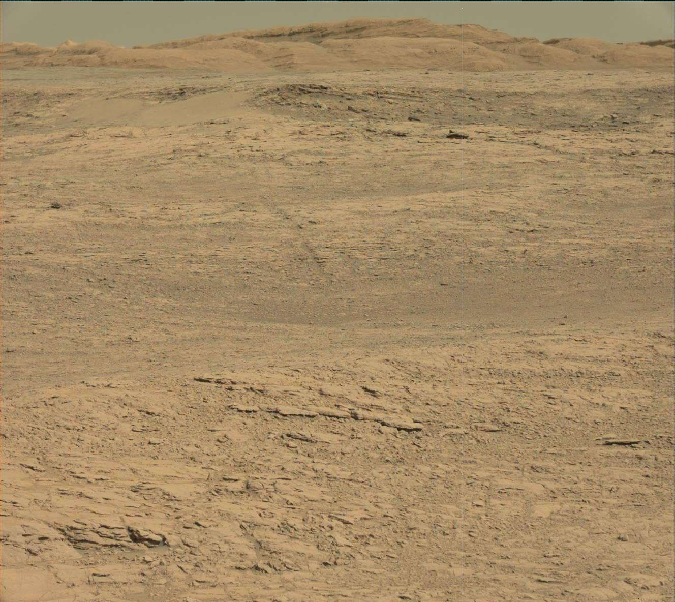 This image was taken by Mastcam: Left onboard NASA's Mars rover Curiosity on Sol 1834.