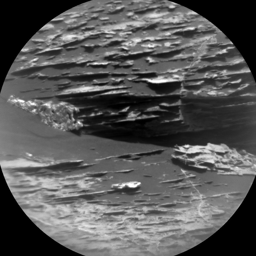 This image was taken by ChemCam: Remote Micro-Imager (CHEMCAM_RMI) onboard NASA's Mars rover Curiosity on Sol 1783.