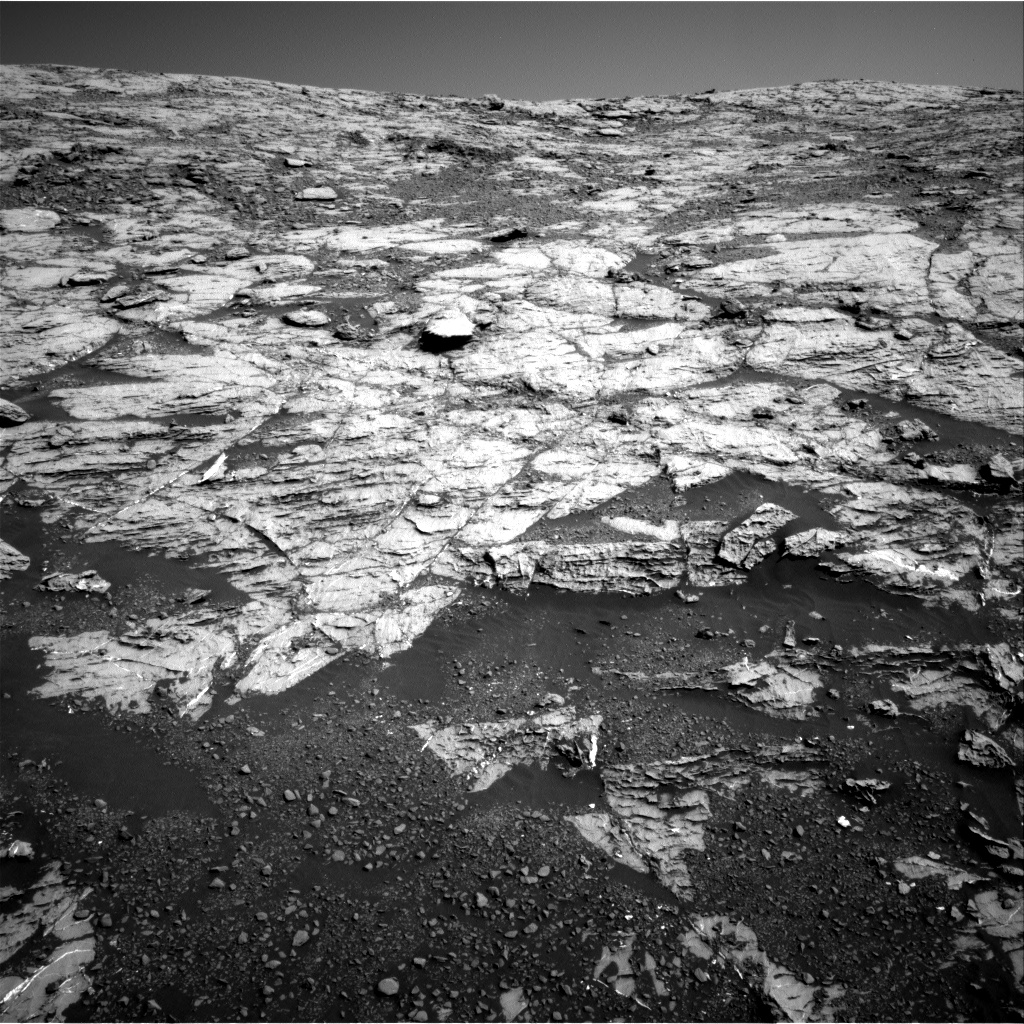 This image was taken by Navcam: Right B onboard NASA's Mars rover Curiosity on Sol 1807
