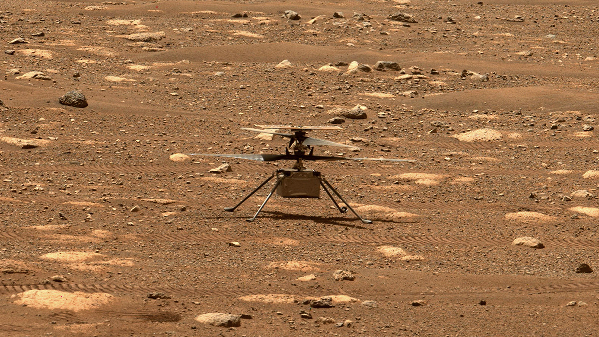 Read about, Work Progresses Toward Ingenuity's First Flight on Mars