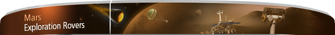 Mars Exploration Rovers banner