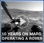 Opportunity: 10 Years on Mars - Operating a Rover