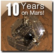 Mars Exploration Rovers 10-Year Anniversary