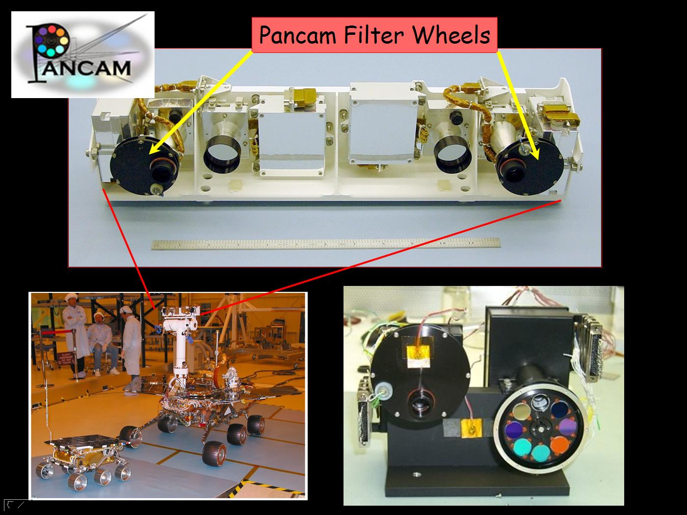 Image of The Panoramic Camera (Pancam) instrument