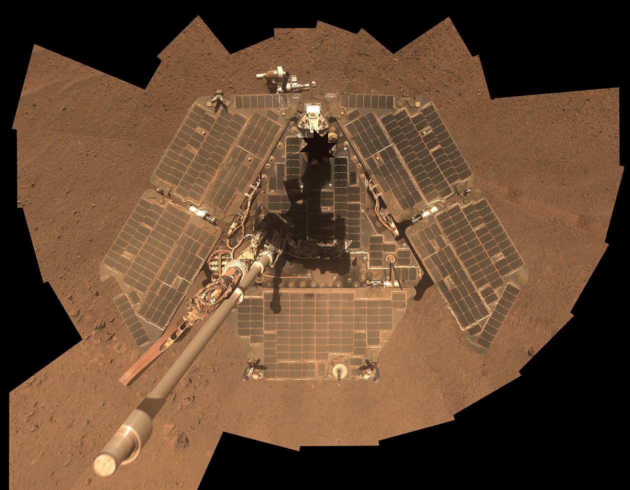 Dusty Rover Selfie after