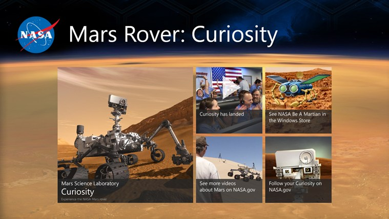 NASA's Mars Rover Curiosity!