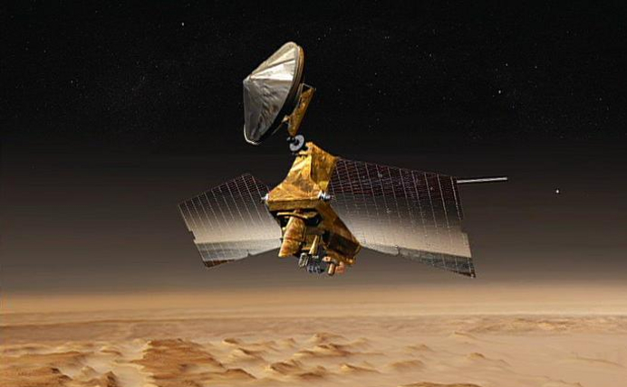 Mars Reconnaissance Orbiter Undergoes Memory Update