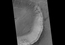 see the image 'Gullies and Newly Identified Flow Features in Same Mars Crater'