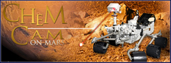 MSL ChemCam on Mars - Official Site