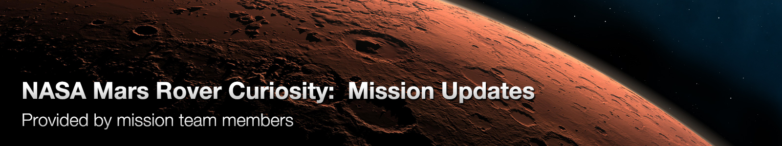 NASA Mars Rover Curiosity: Mission Updates