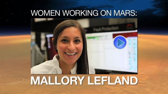 Watch the video 'Woman Working on Mars: Mallory Lefland'