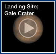 Video: Mars Science Laboratory Landing Site: Gale Crater