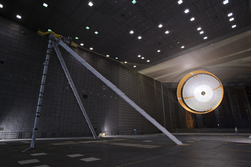 read the article 'Mars Science Laboratory Parachute Qualification Testing'