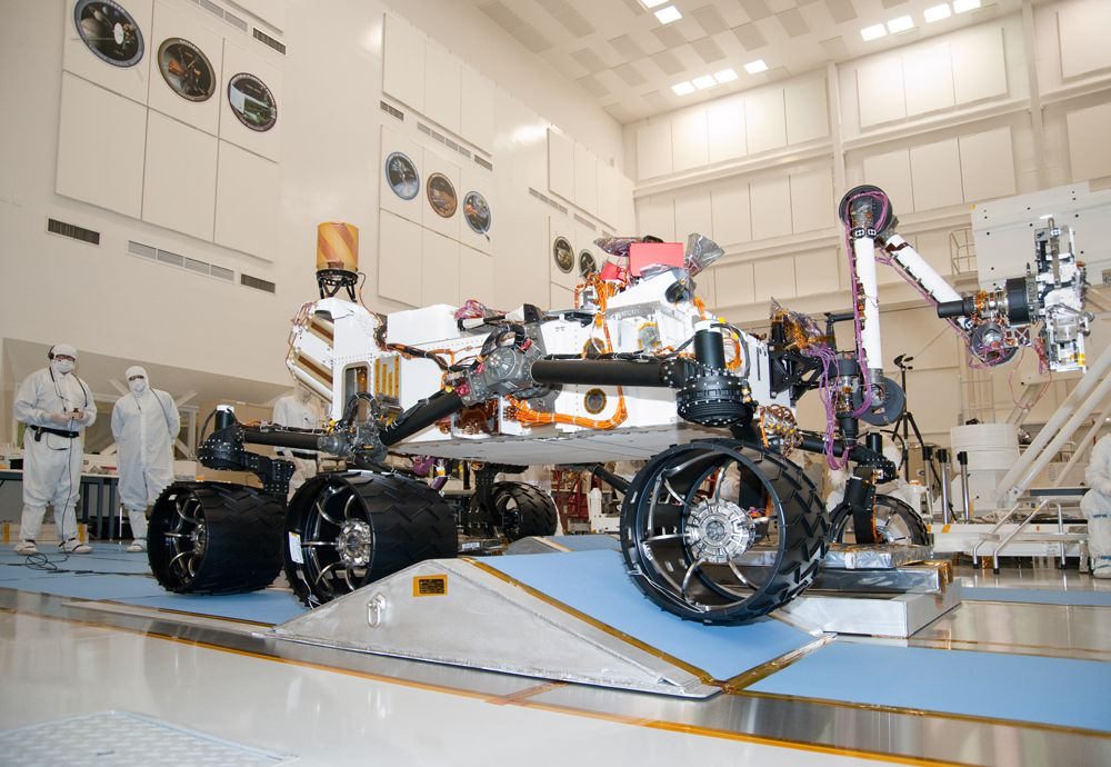 NASA's Next Mars Rover on a Test Drive