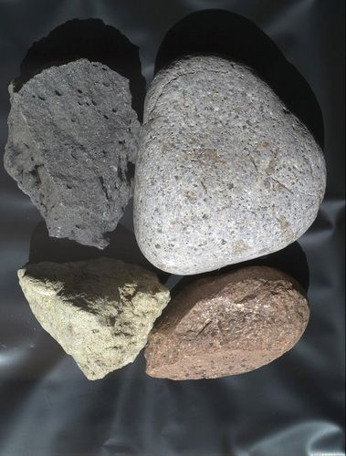 "This view of terrestrial rocks was taken by a testing twin -- the ""life test unit"" -- of the Mars Hand Lens Imager (MAHLI) camera on NASA's Mars Science Laboratory."