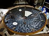 The heat shield for NASA's Mars Science Laboratory is the largest ever built for a planetary mission.