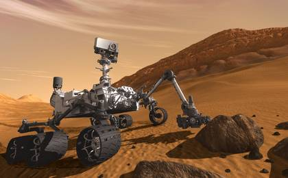 see the image 'Curiosity: The Next Mars Rover'