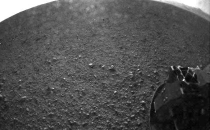 see the image 'Curiosity's Surroundings'
