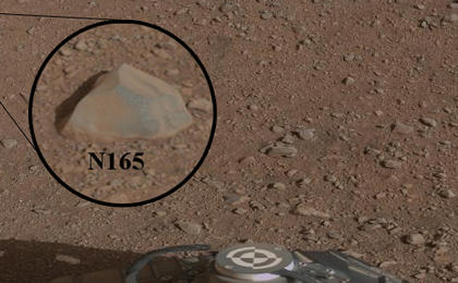 see the image ''Coronation' Rock on Mars'