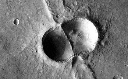 read the article 'Mars Odyssey All Stars: Dual Crater'
