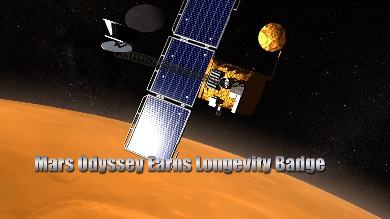 NASA's Odyssey Spacecraft Sets Exploration Record on Mars ...