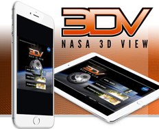 The 3DV mobile app allows you to examine several of NASA's Deep Space Exploration projects that will take our space program to asteroids, Mars, and beyond.