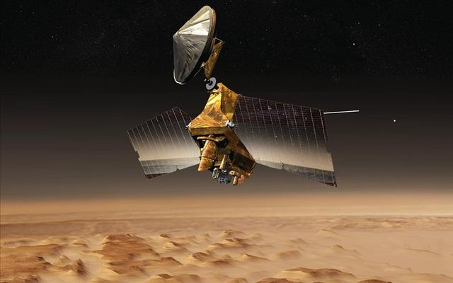 read the article 'NASA Spacecraft Will Alter Orbit to Be in Place for Mars Lander's Arrival'