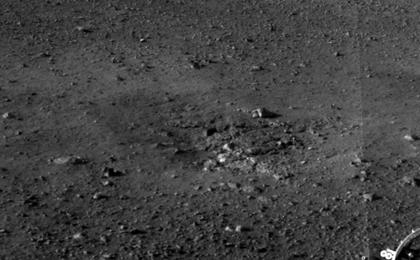 see the image 'Rocket Thrusters Expose Bedrock'