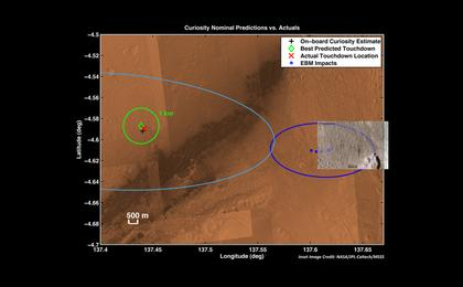 see the image 'Zeroing in on Rover's Landing Site'