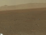 read the article 'Curiosity Sends High-Resolution Color Images from Gale Crater'