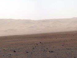 Wall of Gale Crater (White balanced)