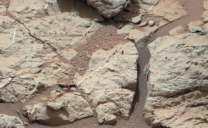 see the image 'Veins in 'Sheepbed' Outcrop'