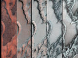 read the article 'Thawing 'Dry Ice' Drives Groovy Action on Mars'