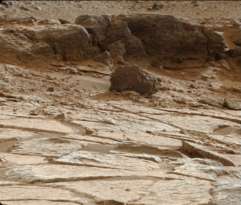 'Point Lake' Outcrop in Gale Crater