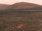 "NASA's Mars Exploration Rover Opportunity used its panoramic camera (Pancam) to acquire this view of ""Solander Point"" during the mission's 3,325th Martian day, or sol (June 1, 2013)."