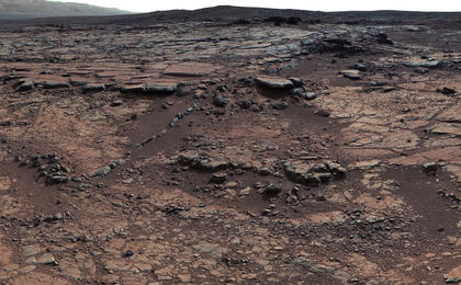 read the article 'NASA's Curiosity Rover Sharpens Paradox of Ancient Mars'